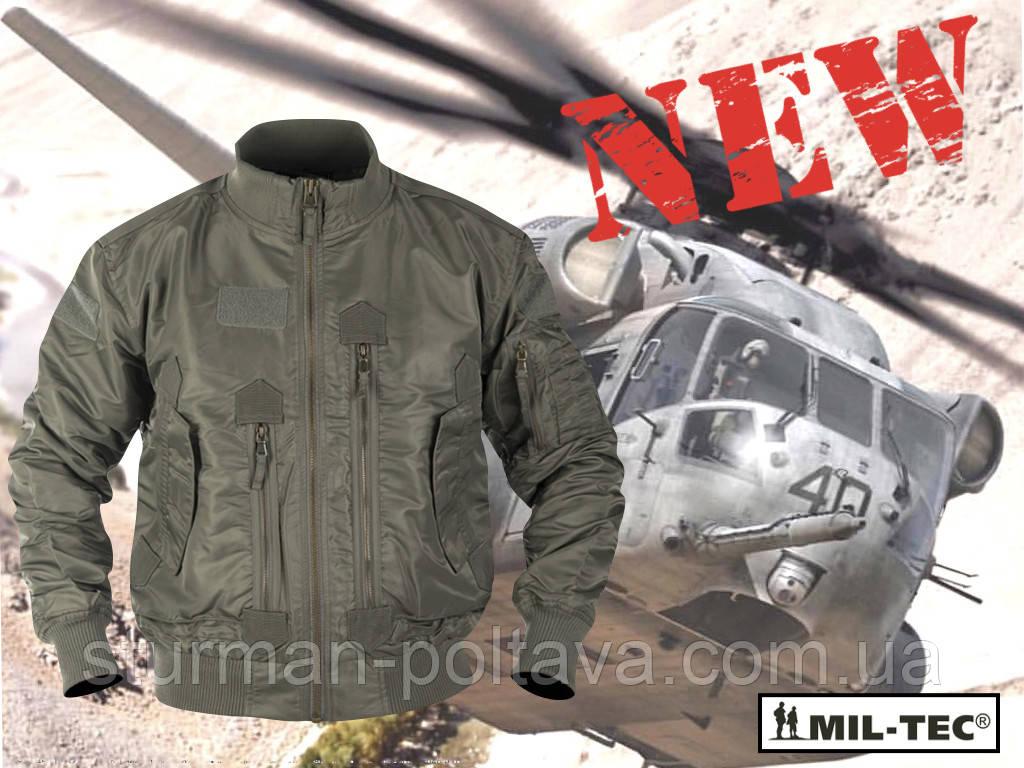Куртка мужская демис=езонная  тактическая  AVIATOR авиационный   нейлон  Mil-tec  цвет олива    Германия