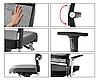 Кресло офисное руководителя c высокой спинкой Enrandnepr LORDO DAUPHIN Черный, фото 5
