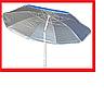 Зонт 220см наклон с напылением РОМАШКА