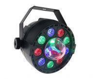 Пар New Light PL-99C Mini LED PAR LIGHT 9 * 1W with crystall ball