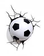 """3D Светильник """"Футбольный Мяч"""", Football Light (UKC-0946)"""