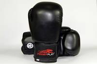 Боксерские перчатки Power Play 3004 10 oz Black