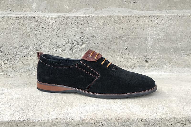 Стильне чоловіче взуття з натуральної замші- обирай якість по вигідній ціні! Остання пара 41 розмір!