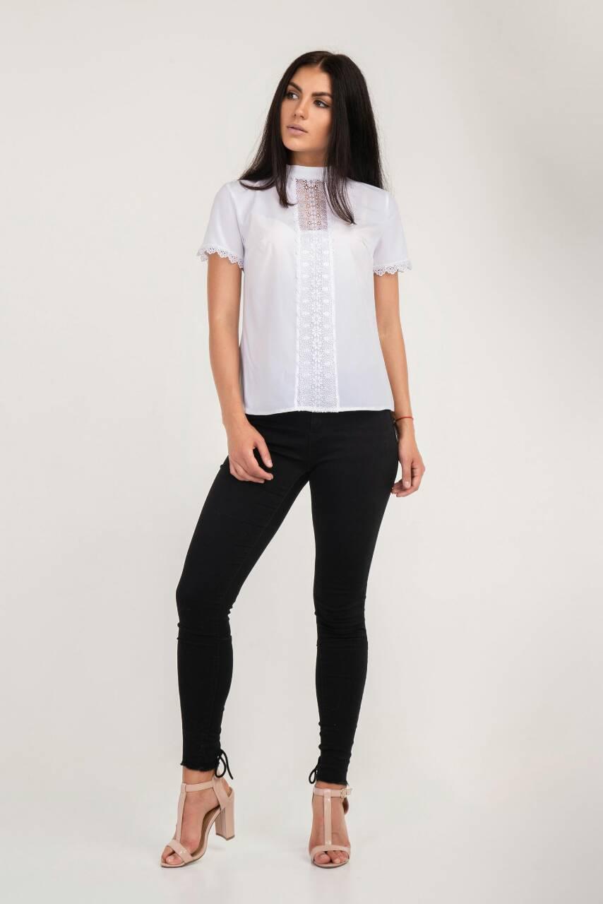 2fe398b833ee Стильная женская блузка Марианна размеров от 42 до 48 в интернет магазине  для девушек , купить