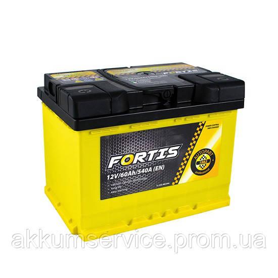 Акумулятор автомобільний Fortis 80AH R+ 780А (FRT80-00)