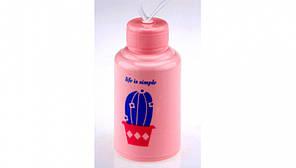 Яркая бутылка Life is simple с кактусом Для напитков в стиле  минимализм Оригинальный дизайн Код: КГ5477
