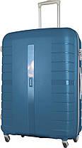 Чемодан Carlton Voyager VOYNSETW4-79;TBL синий, фото 2