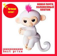 Интерактивная обезьянка Fingerlings (white), фото 1