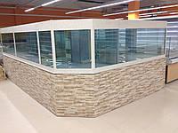 Торговый аквариум 1000*800*800(h)