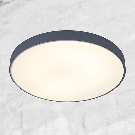 Светодиодная потолочная люстра с пультом (серая 50см), фото 2