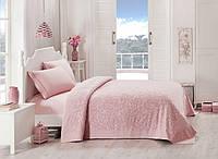 Набор постельного белья TAC сатин + махровая простынь Lyon a.gul kurusu евро