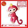 Интерактивная ручная обезьянка Fingerlings Happy Monkey Bella (red)