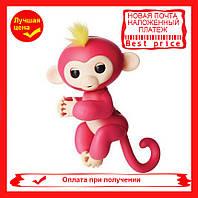 Интерактивная ручная обезьянка Fingerlings Happy Monkey Bella (red), фото 1