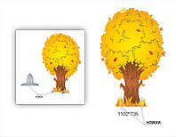 Декорация  дерево осеннее