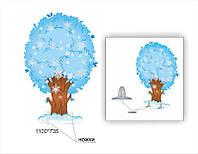 Декорация  дерево зимнее