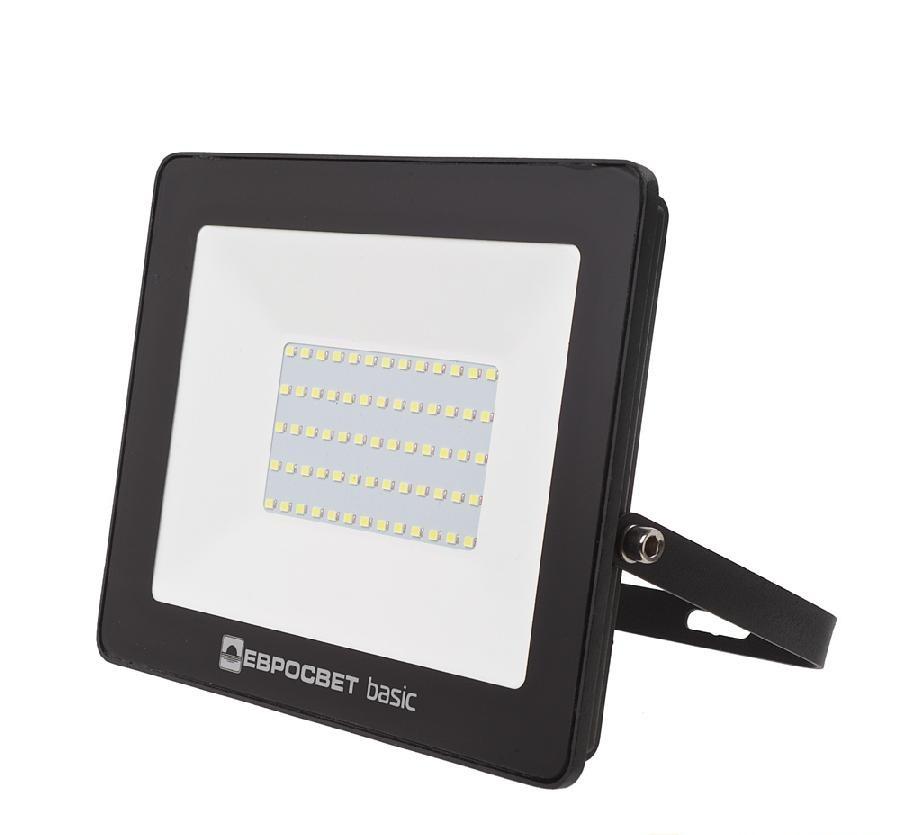 Светодиодный LED прожектор 100 Вт 6400К 5500 Lm Евросвет