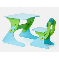 Стул и стол с регулируемой высотой для ребёнка (на подарок)
