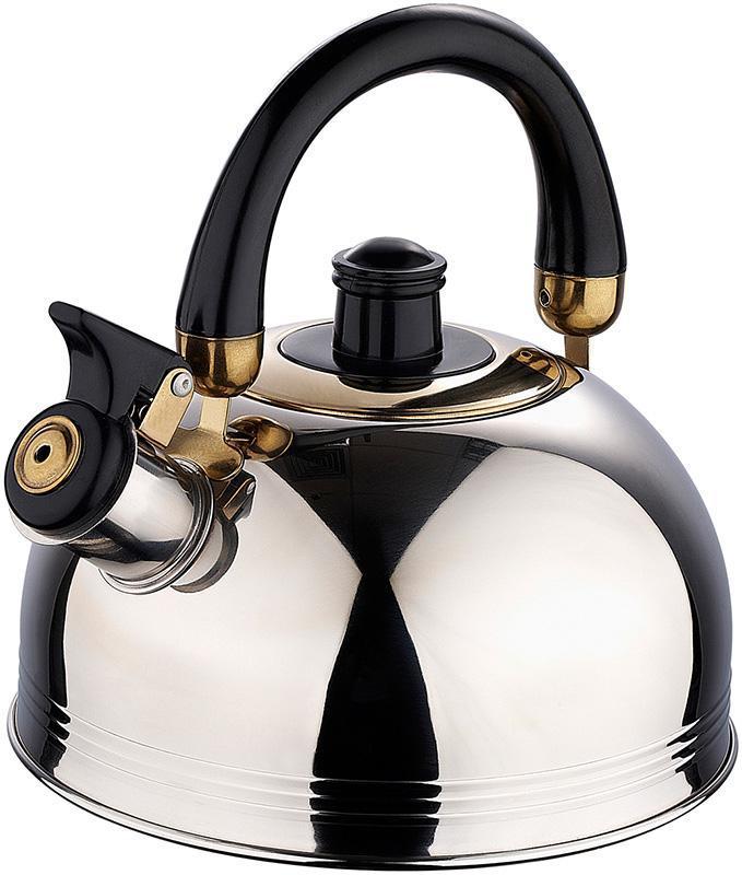 Чайник KuhMister Kettle 2 литра, нержавеющая сталь с бакелитовой ручко