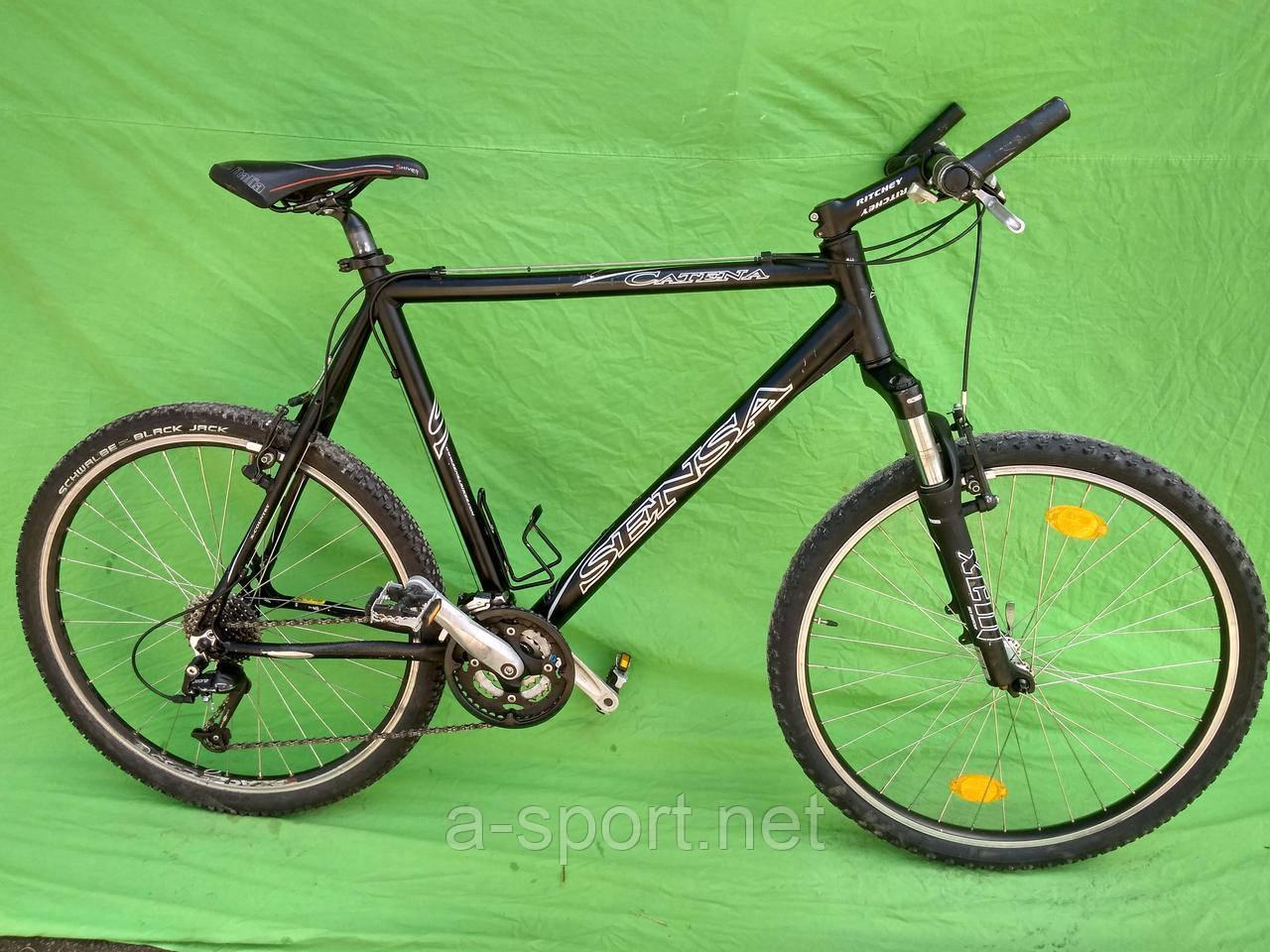 Гірський велосипед Sensa Catena алюміній, deore
