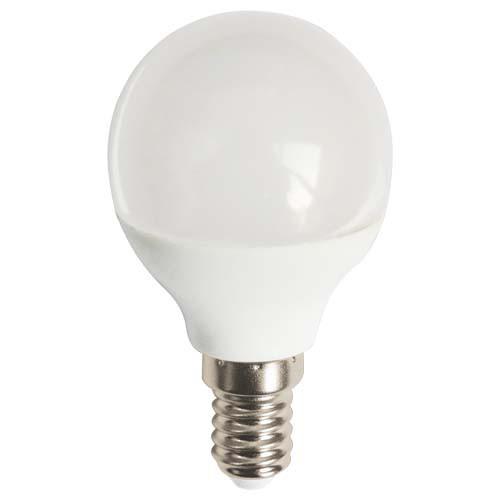 LED лампа NEOMAX G45 шар 4W E14 4000K (NX4B) 360Lm
