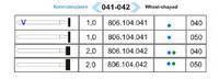 104.041.524.040 колесовидная син.пр.