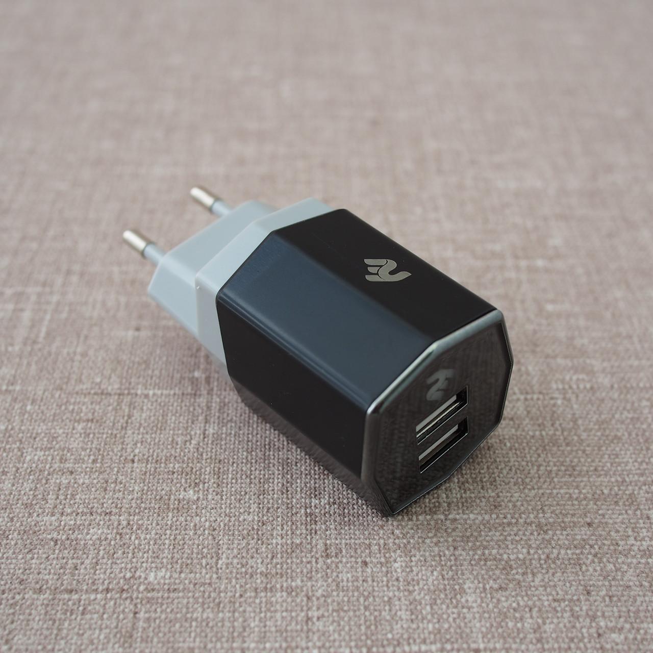 З у сетевое 2E Dual USB Wall Charger