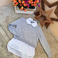 Толстовка-рубашка для девочек Оптом и в розницу Турция
