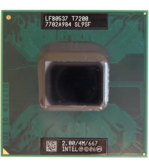 Процессор Intel Core 2 Duo T7200 4 МБ кэш-памяти, тактовая частота 2,00 ГГц, частота системной шины 667 МГц