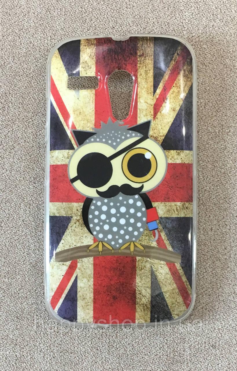 Силіконовий чохол для Motorola MOTO G (England Owl) XT1028, XT1031, XT1032, XT1033, XT1034