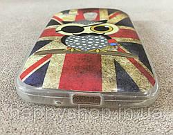 Силиконовый чехол для Motorola MOTO G (England Owl) XT1028, XT1031, XT1032, XT1033, XT1034, фото 2