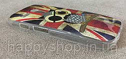 Силіконовий чохол для Motorola MOTO G (England Owl) XT1028, XT1031, XT1032, XT1033, XT1034, фото 3