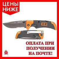 Туристический складной нож Gerber Bear Grylls Folding Sheath Knife с чехлом
