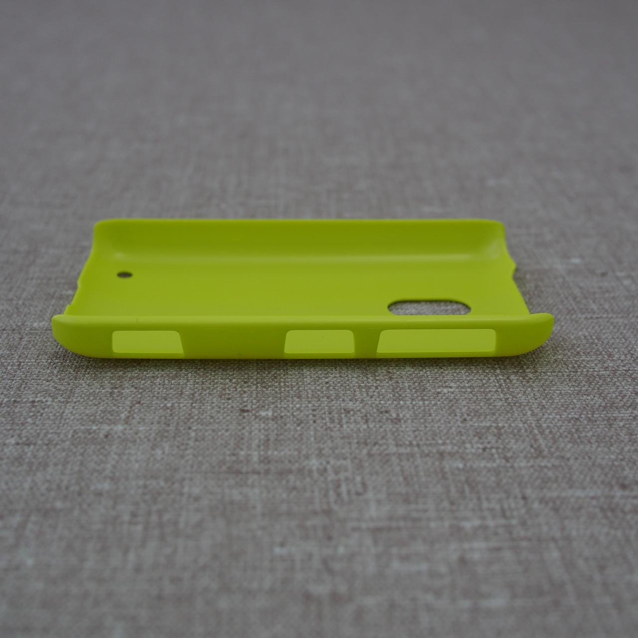 Накладка ROCK NakedShell Nokia Lumia 620 yellow Для телефона