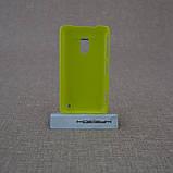 Накладка ROCK NakedShell Nokia Lumia 620 yellow EAN/UPC: 695029064563, фото 2