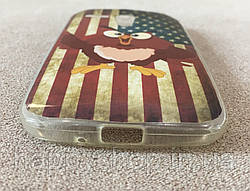 Силиконовый чехол для Motorola MOTO G (USA Owl) XT1028, XT1031, XT1032, XT1033, XT1034, фото 2