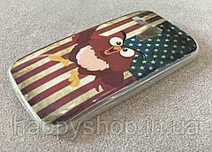 Силиконовый чехол для Motorola MOTO G (USA Owl) XT1028, XT1031, XT1032, XT1033, XT1034, фото 3
