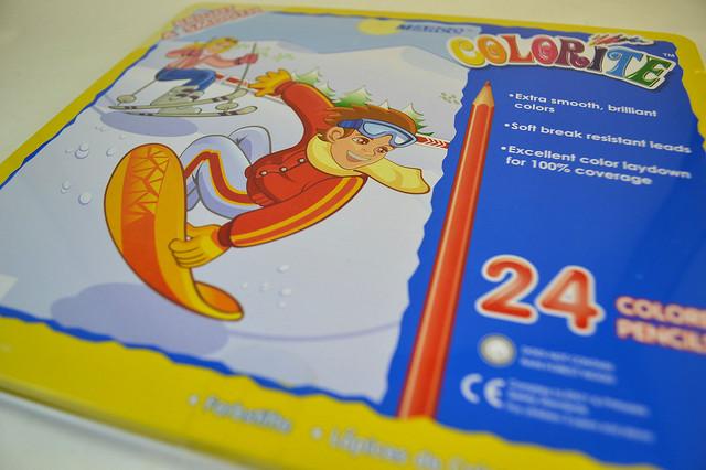 цветные карандаши марко колорит 24