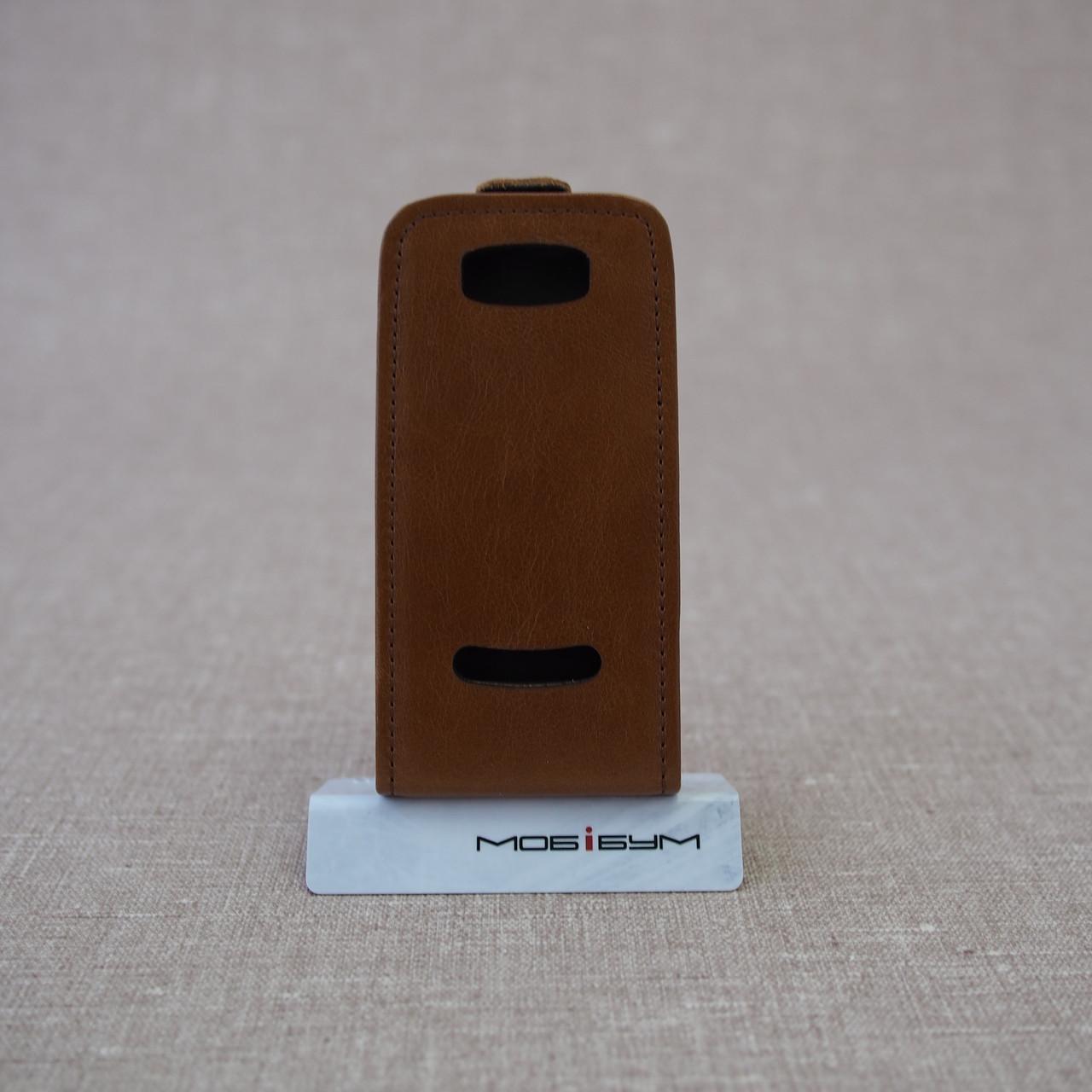 Чехол KeepUP Nokia 306 Brown Для телефона