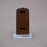 Чехол KeepUP Nokia 306 Brown, фото 2