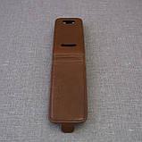 Чехол KeepUP Nokia 306 Brown, фото 3