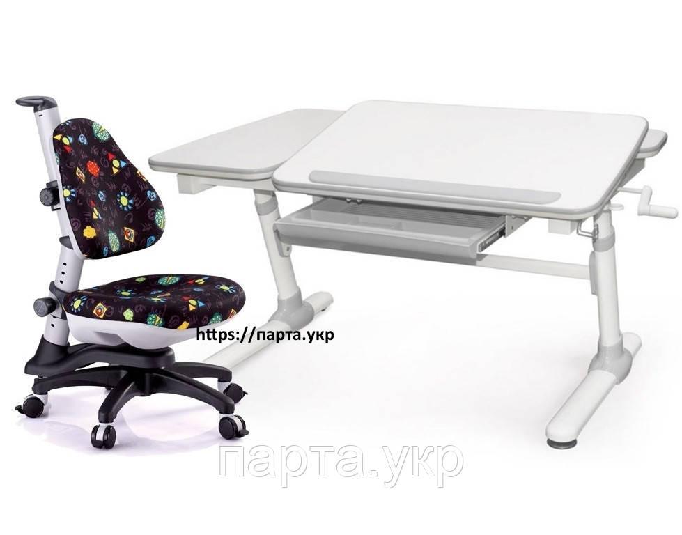 Парта трансформер 120 см + кресло детское Y318