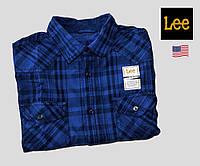 Рубашка мужская Lee® (США)(L)/100% хлопок/Оригинал из США