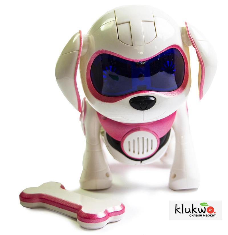 Интерактивная игрушка Собака  - ROCK ROBOT DOG Розовый