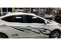 Виниловая наклейка на автомобиль OZ, 180 см