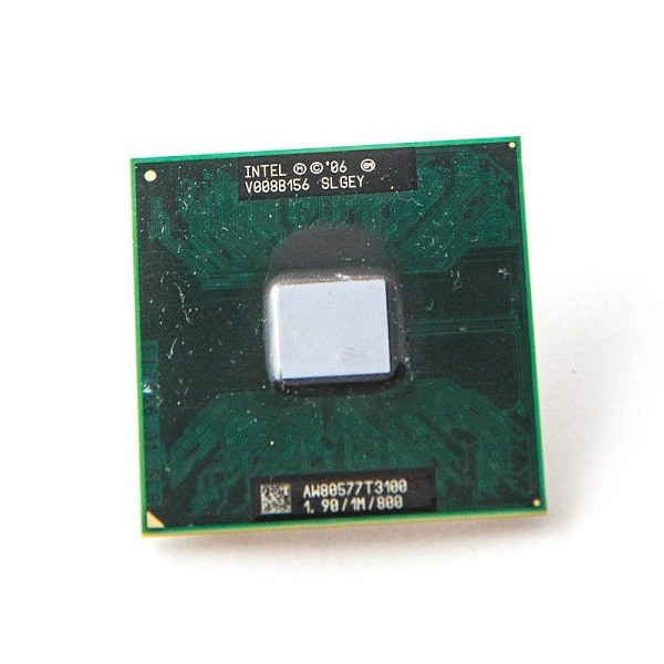 Процессор Intel Celeron T3100 тактовая частота 1,90 ГГц, 1 МБ кэш-памяти, частота системной шины 800 МГц