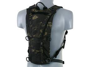 3 литровый тактический гидратационный рюкзак – MULTICAM BLACK[8FIELDS] (для страйкбола), фото 3