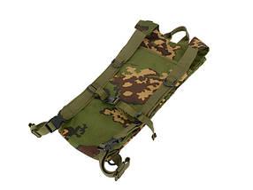 3 литровый тактический гидратационный рюкзак – MULTICAM BLACK[8FIELDS] (для страйкбола), фото 2