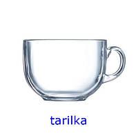 Кружка (чашка) LUMINARC ДЖАМБО прозрачн. /500 мл д/бульона (H8503/1)