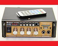 Усилитель звука AK-698E FM USB + Караоке, фото 1