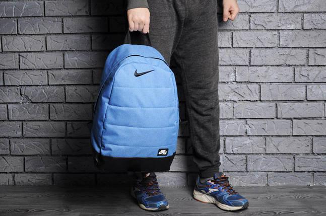 Молодежный рюкзак В стиле Nike Air / голубой джинс, фото 2